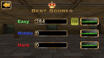 Screenshot of 2048 3D Pro