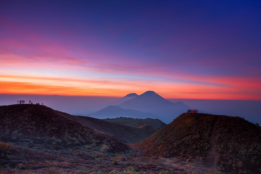 Mt. Prau by Agus Sudharnoko - Landscapes Mountains & Hills