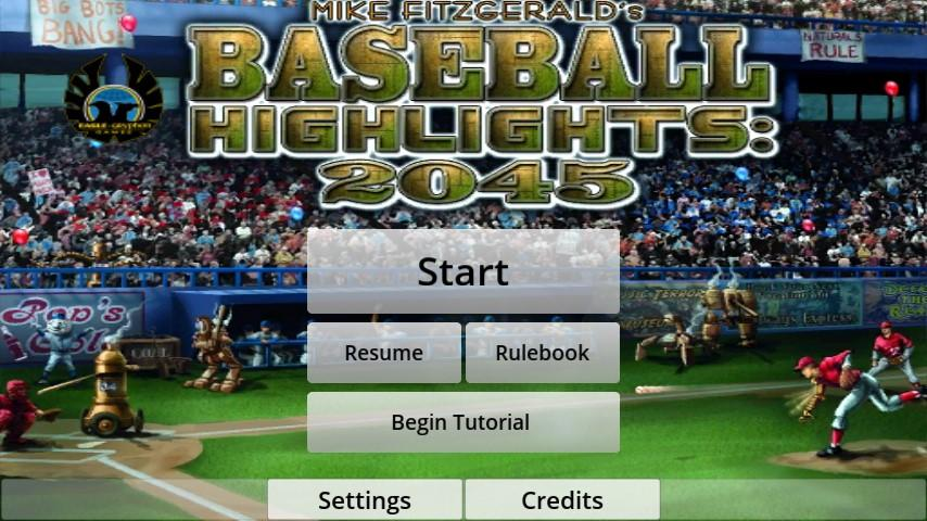 Baseball Highlights 2045 Screenshot 1