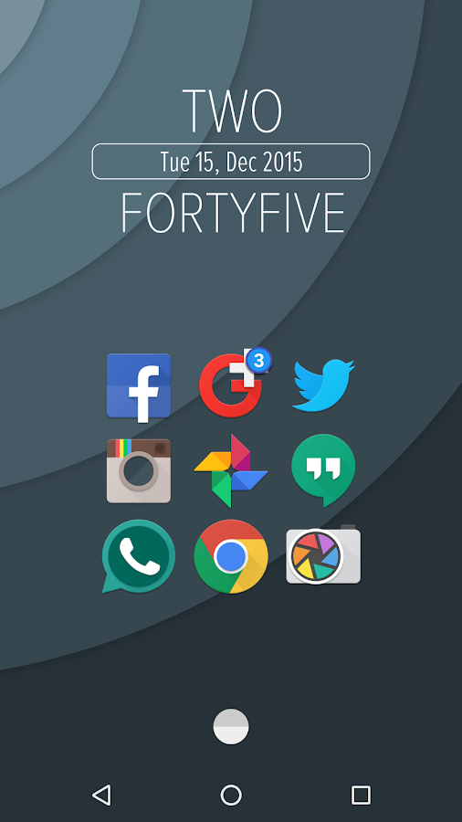 Urmun - Icon Pack Screenshot 3
