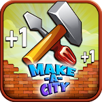 Make a City Idle Tycoon- Free Build & Upgrade Game Icon
