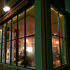 Outside Looking In by Leslie Hunziker - Buildings & Architecture Architectural Detail ( building, street view, restaurant )