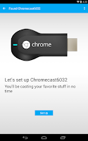 Screenshot of Chromecast