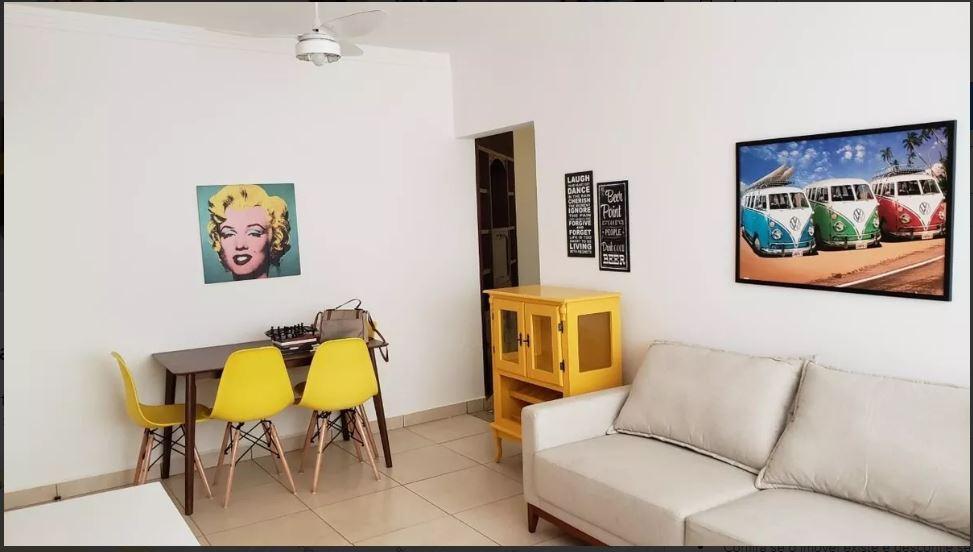 Apartamento com 4 dormitórios para alugar, 100 m² por R$ 4.000/mês - Aparecida - Santos/SP