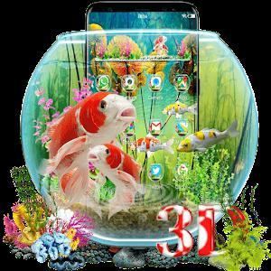 3D Aquarium Japaneses  Koi Fish For PC