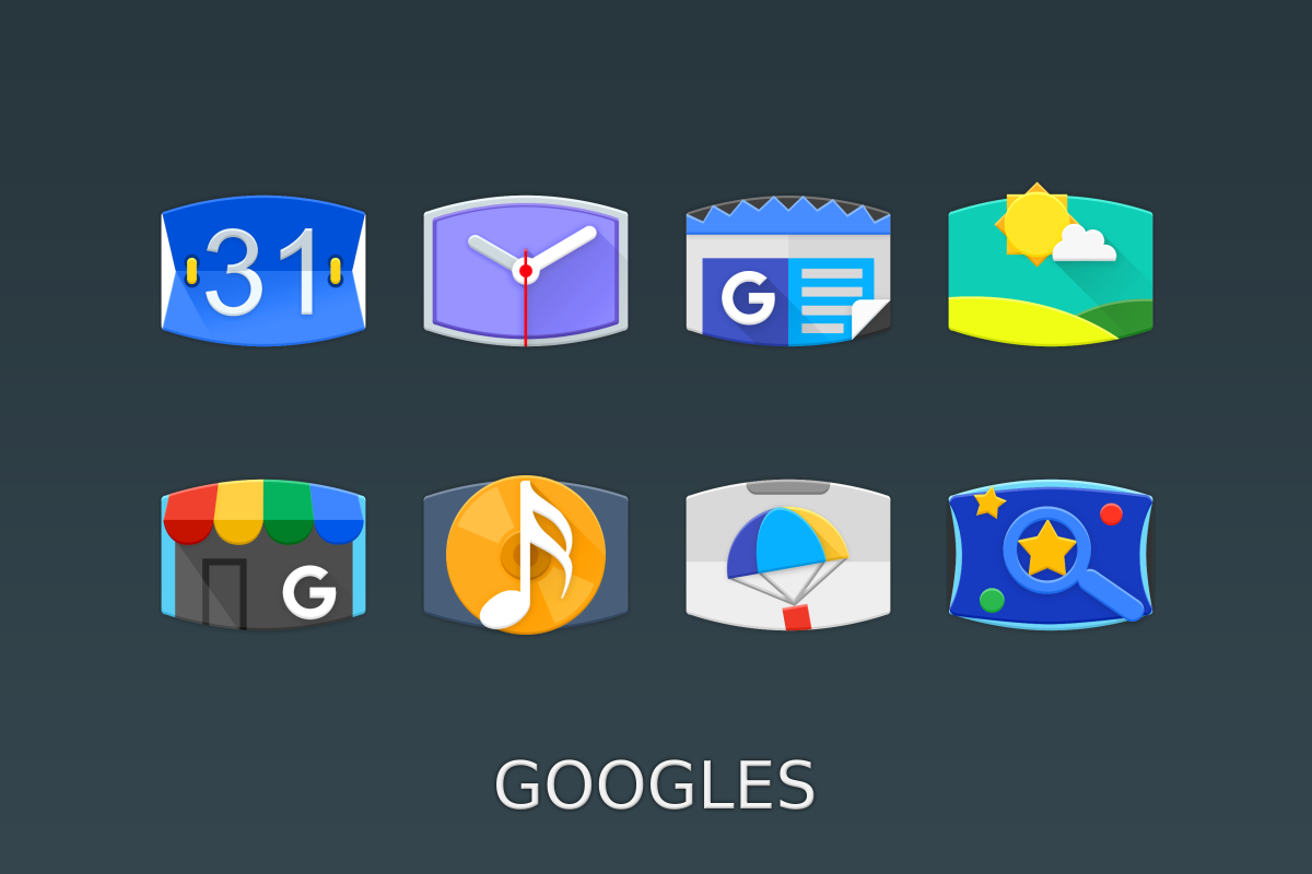 Panorama Material Icon Pack Screenshot 3