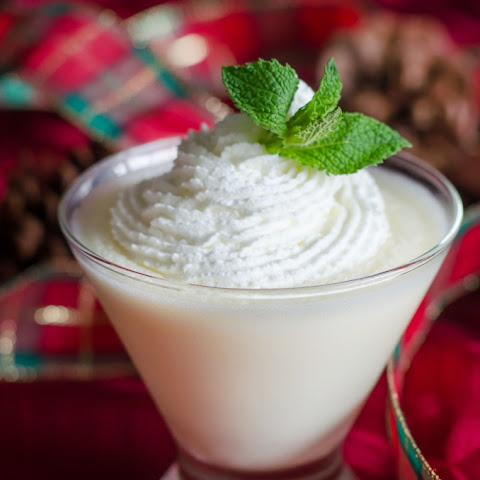 White Chocolate Mint Pot de Creme