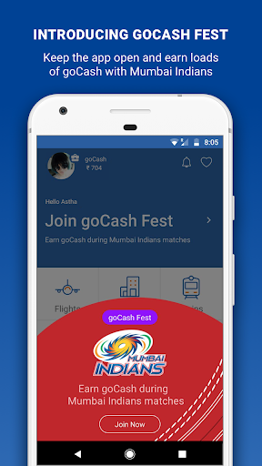 Goibibo - Flight Hotel Bus Car IRCTC Booking App screenshot 1