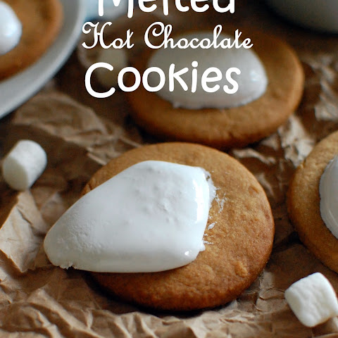 Melted Hot Chocolate Cookies