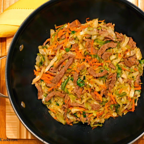 Quick Beef & Cabbage Stir-Fry