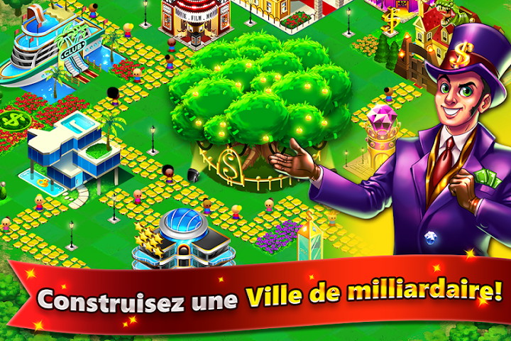 android Money Tree City - Riche Ville Screenshot 0