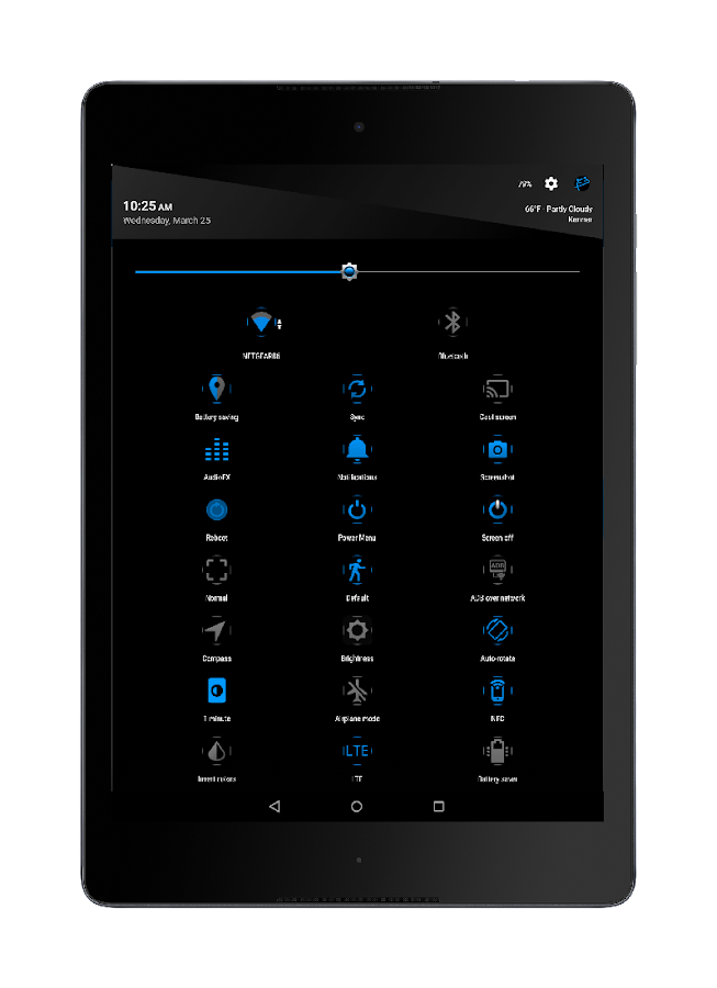 Blu XS CM12-13 Theme Screenshot 8
