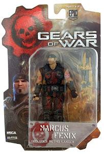 "Фигурка ""Gears of War 3 3/4"" Series 1 - Marcus Fenix Bloody Variant /14шт"