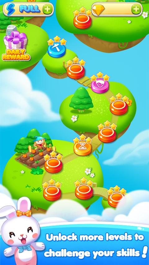 Fruit Bunny Mania Screenshot 2