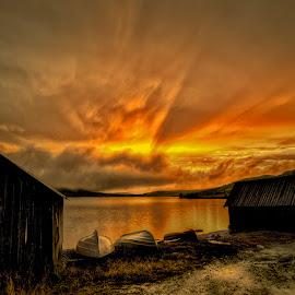 Rain by John Aavitsland - Landscapes Sunsets & Sunrises