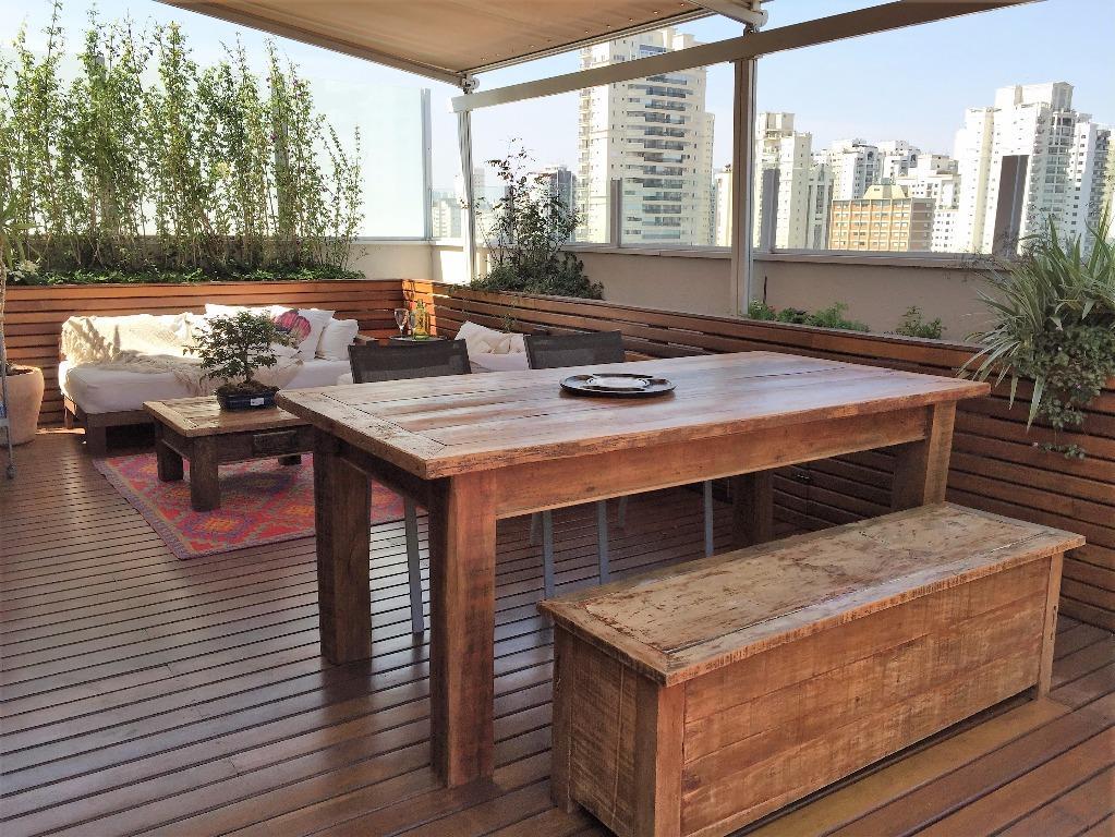 Cobertura à venda/aluguel, Brooklin Paulista, São Paulo