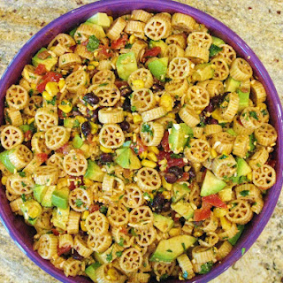 Wagon Wheel Taco Pasta Salad