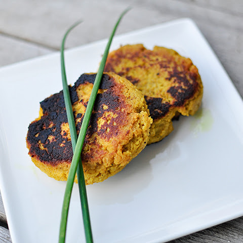 Curried Plantain Patties