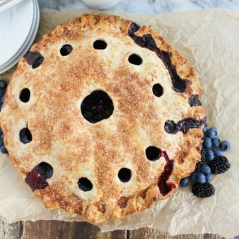 Fresh Blueberry Pie for Tastes of Lizzy T's
