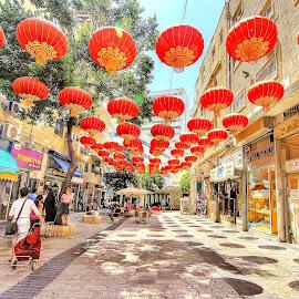 JERUSALEM by Joel Adolfo - City,  Street & Park  Street Scenes ( street&park, city )