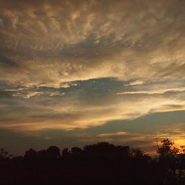 by Karl Jones - Landscapes Cloud Formations