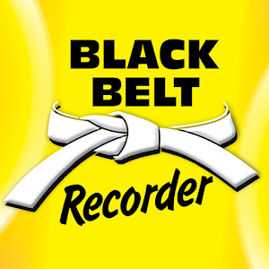 Black Belt Recorder White