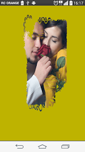 Yellow flower Photo Frame - screenshot