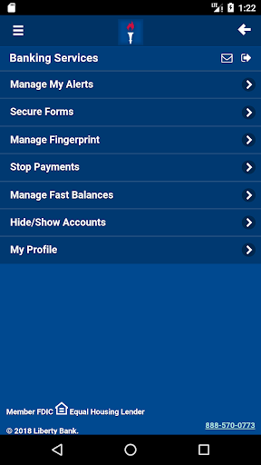 Liberty Bank Mobile Banking For PC