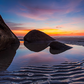 Twilight by Lawrence Chung - Landscapes Sunsets & Sunrises