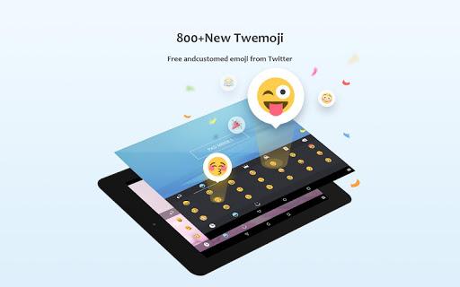GO Keyboard - Emoticon keyboard, Free Theme, GIF screenshot 14