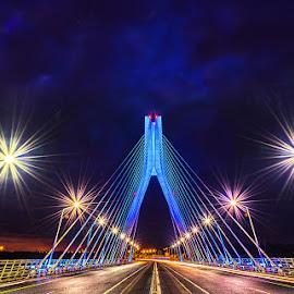 The Boyne Bridge by Leslie Hanthorne - Buildings & Architecture Bridges & Suspended Structures