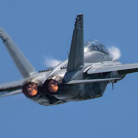 Faster by Greg Harrison - Transportation Airplanes ( quad city airshow, naval aircraft, military aircraft, fa-18, air show )