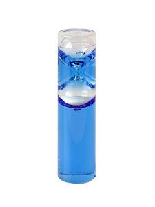 Песочные часы-жидкие, 1 мин, синий
