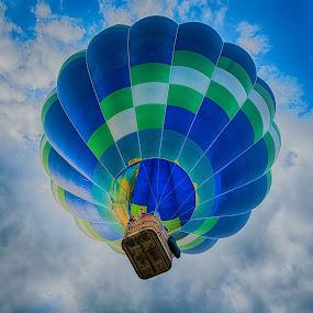 Hot Air Balloon by Nigel Bishton - Transportation Other