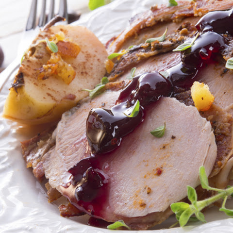 Easy Crock Pot Cranberry Turkey