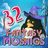Fantasy Mosaics 32: Santa39s Hut on PC (Windows & Mac)