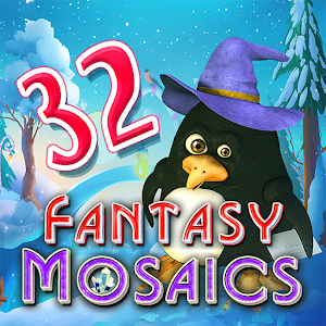 Fantasy Mosaics 32: Santa's Hut For PC / Windows 7/8/10 / Mac – Free Download