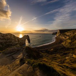 Durdle Door by Rick McEvoy - Landscapes Caves & Formations ( rick mcevoy, jurassic coast, landscape, durdle door, dorset )