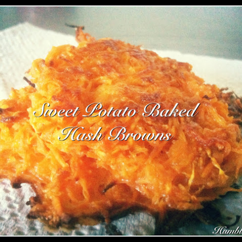 Baked Sweet Potato Hash Browns
