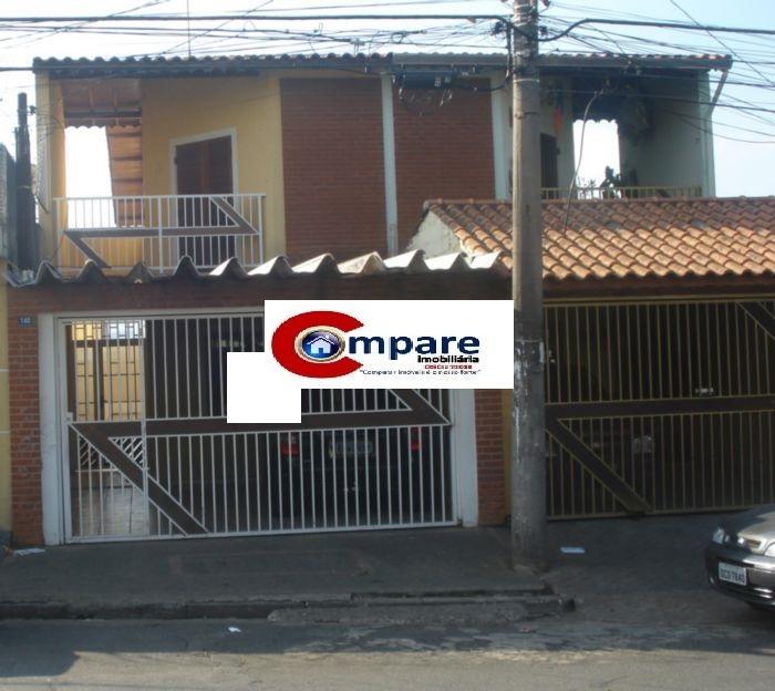 Casa 3 Dorm, Jardim Santa Mena, Guarulhos (SO1322)