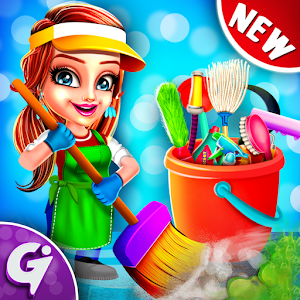 Keep Home Clean & tidy - Girls House Cleaning Game For PC (Windows & MAC)