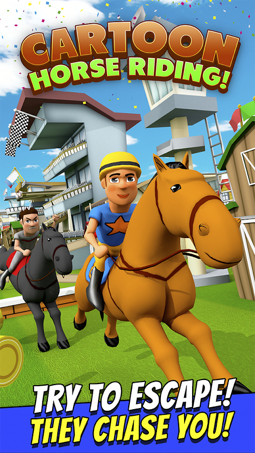 Cartoon Horse Riding Game Free Screenshot 8