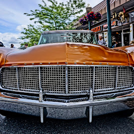 Lincoln Looks by Barbara Brock - Transportation Automobiles ( old car, lincoln, classic automobile, vintage car, transportation )