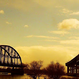 Two bridges by Courtney Jensen - Buildings & Architecture Bridges & Suspended Structures