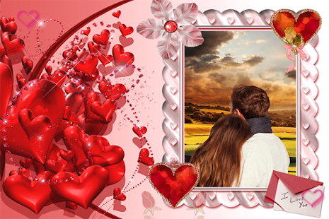 Valentines Day Photos Frames - screenshot