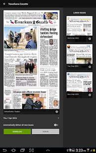 Texarkana Gazette - screenshot