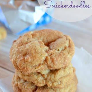 Drunken Snickerdoodle Cookies
