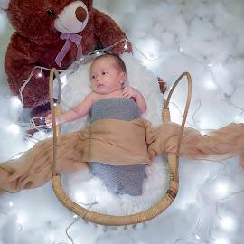 Light Sleep by Dedi Triyanto  - Babies & Children Babies