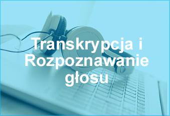Transkrypcja tekstów