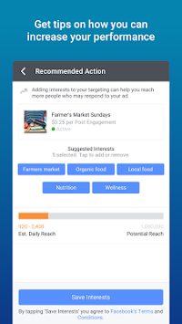 Facebook Ads Manager APK screenshot thumbnail 5
